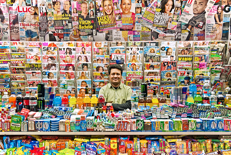 Colorful Newsstand